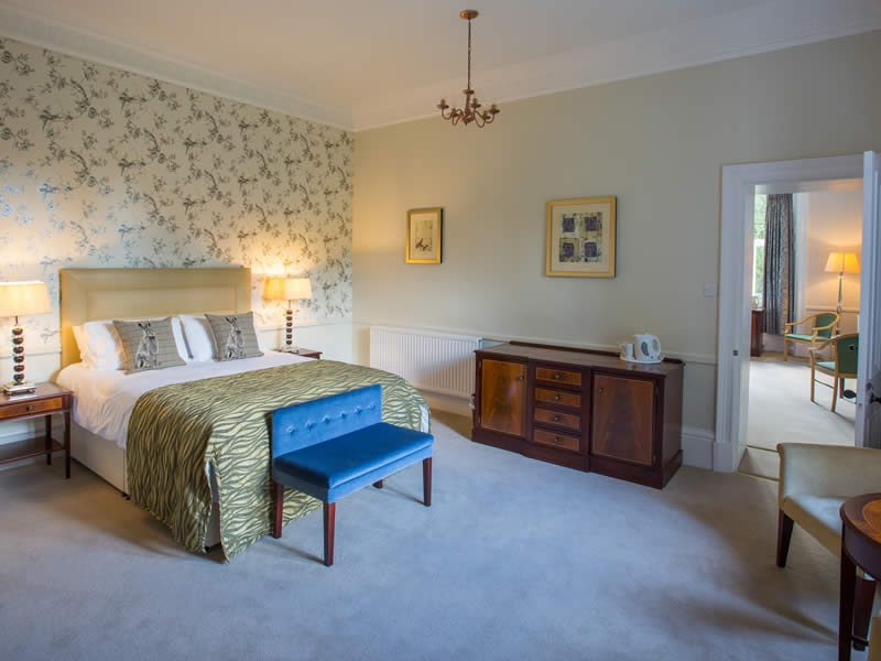 Adjoining rooms are ideal for family groups