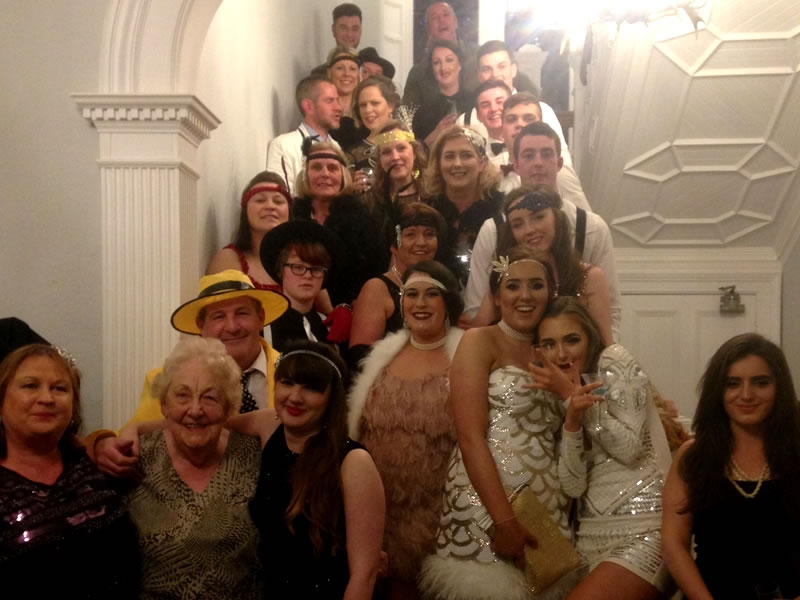 We love hosting themed and fancy dress parties