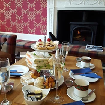 afternoon tea hawick scotland