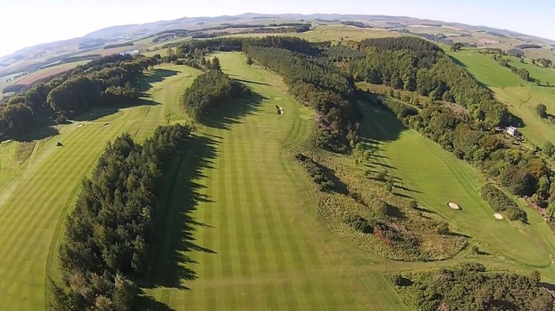 Hawick golf course scottish borders