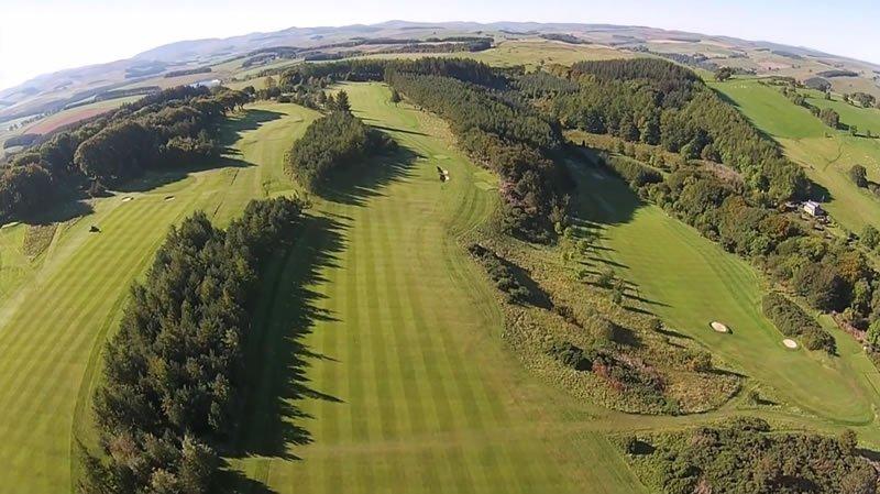 golf breaks in the scottish borders
